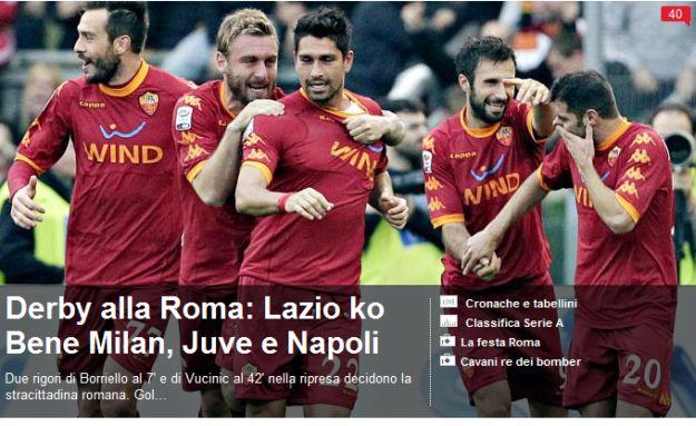 """Video - """"Kriza je gotova"""": Roma iz dva penala do slavlja u gradskom derbiju"""