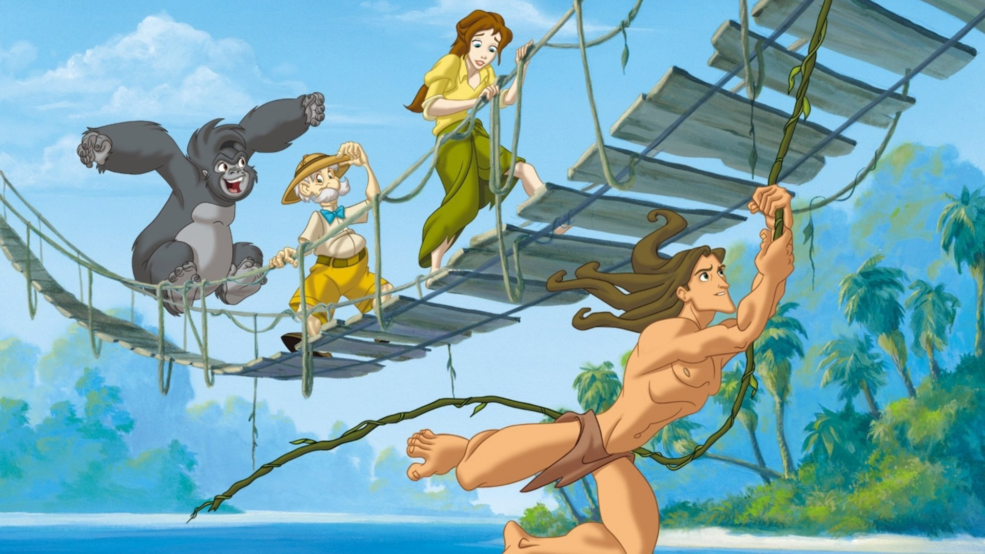 Tarzan jane 2002 for Professor archimedes q porter
