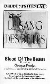Le sang des bêtes
