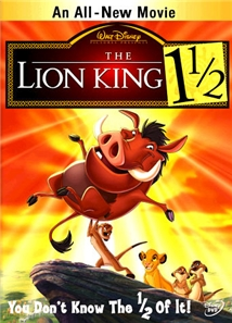 The Lion King 1 1/2 Aka The Lion King 3