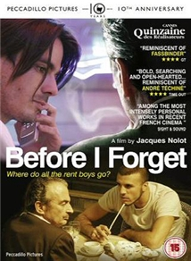 Avant Que J'oublie Aka Before I Forget