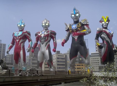 Ultraman pohodi Japan