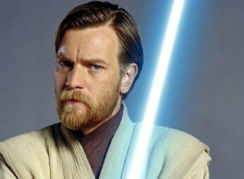 Obi-Wan Kenobi jaše sam