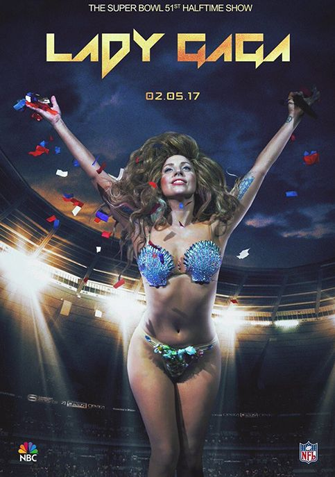 Super Bowl LI Halftime Show Starring Lady Gaga