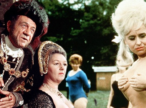 Carry on serijal – Jeftina, ali dopadljiva doza humora