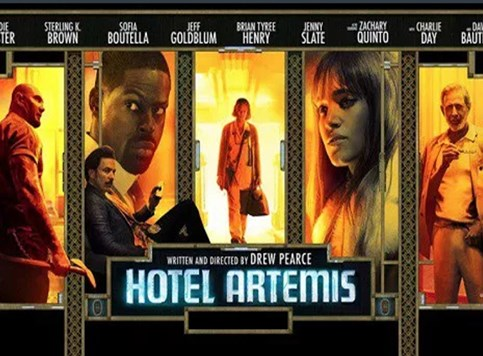 Hotel Artemis - Stripovsko šarenilo