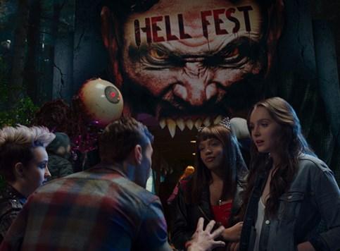 Hell Fest - Solidan nepretenciozan horor