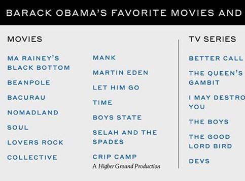 Omiljeni filmovi Baracka Obame