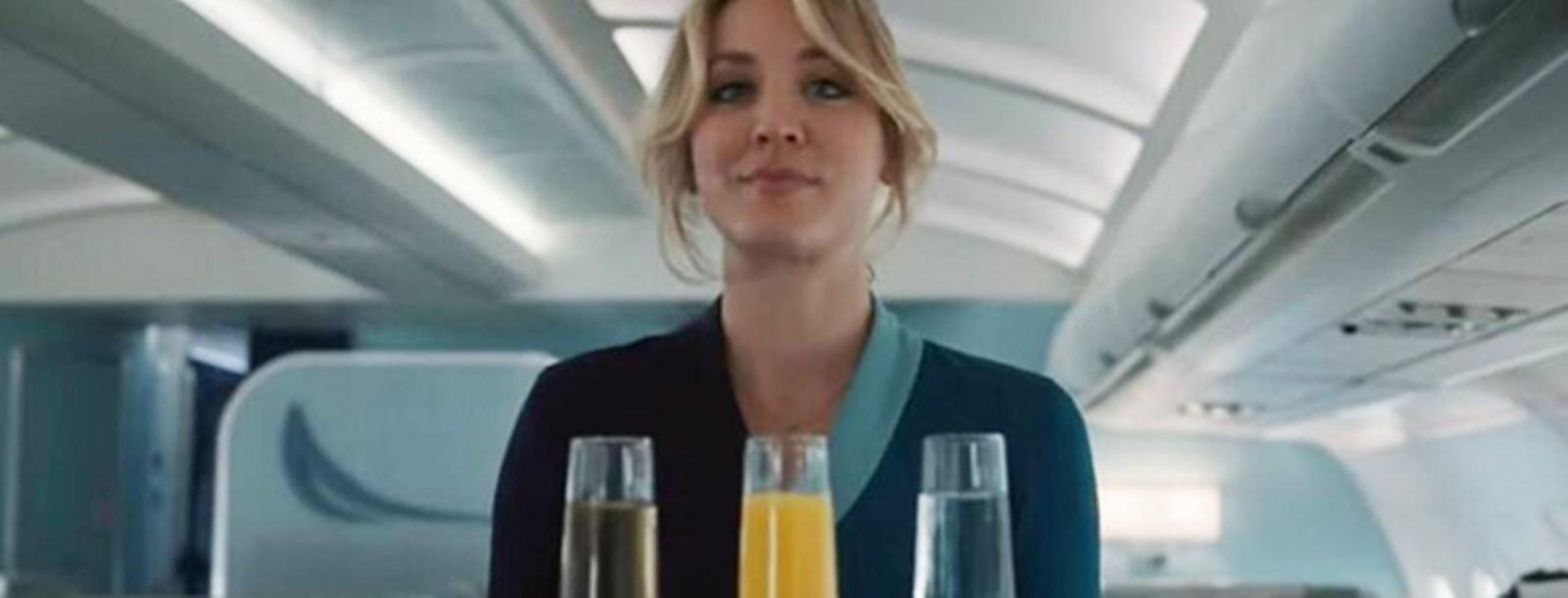 The Flight Attendant - Kaley Cuoco na HBO Max