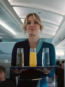 The Flight Attendant - Kaley Cuoco na HBO Max