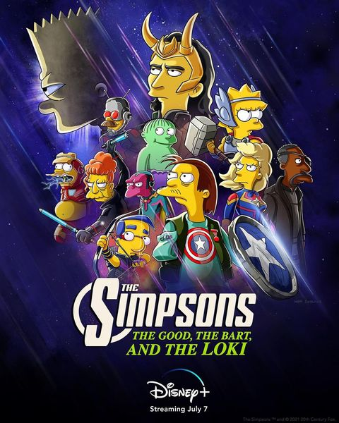 The Simpsons the Good, the Bart, and the Loki