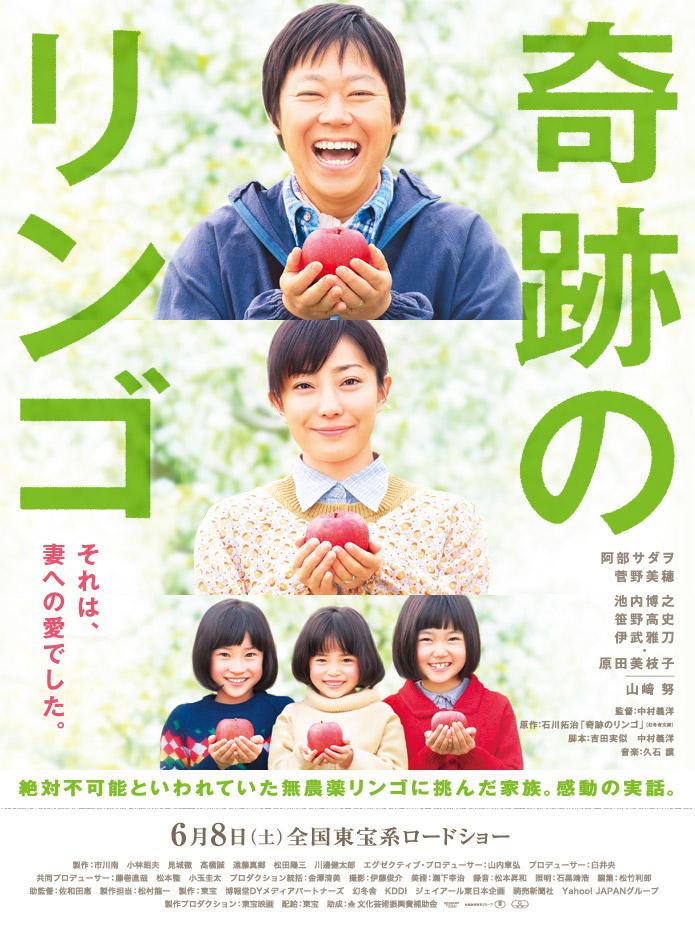 Kiseki no ringo Aka Miracle Apples